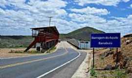 Banabuiú - Estrada da barragem de Banabuiú-CE-Foto:WLuiz