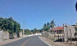 Barra Nova - Barra Nova-CE-Entrada da cidade-Foto:JEAN LIRA