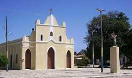 Barra Nova - Barra Nova-CE-Igreja de São João Batista-Foto:Junior
