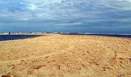 Barra Nova - Barra Nova-CE-Praia e bancos de areia-Foto:JEAN LIRA