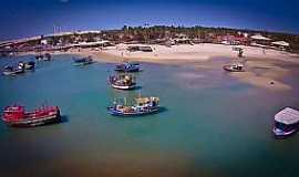 Barra Nova - Barra Nova-CE-Vista aérea-Foto:Facebook