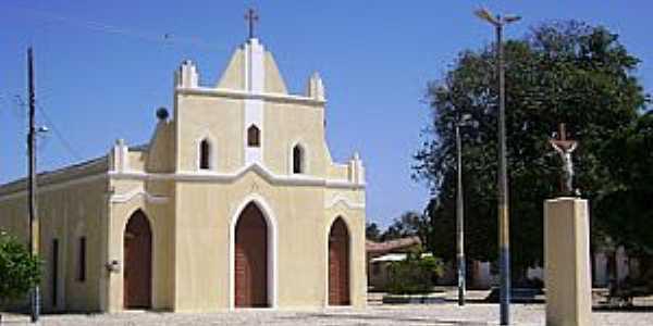 Barra Nova-CE-Igreja de São João Batista-Foto:Junior
