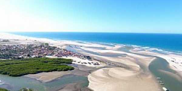 Barra Nova-CE-Vista aérea-Foto:Facebook