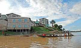 Marechal Thaumaturgo - Marechal Thaumaturgo-AC-O rio e a cidade-Foto:Jezaflu Jesus