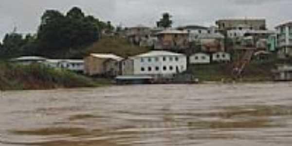 Marechal Thaumaturgo vista do Rio Juruá-Foto:JEZAFLU=ACRE=BRASIL
