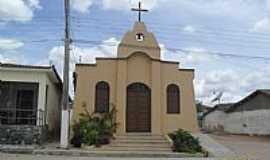 Minador do Negrão - Igreja no Povoado Minador do Lúcio em Minador do Negrão-Foto:Sergio Falcetti