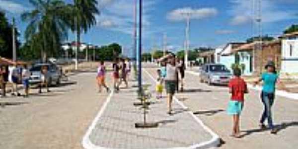 Avenida Sampaio Lacerda em Vila Barreiros-Foto:Miguel Sampaio Lacer…