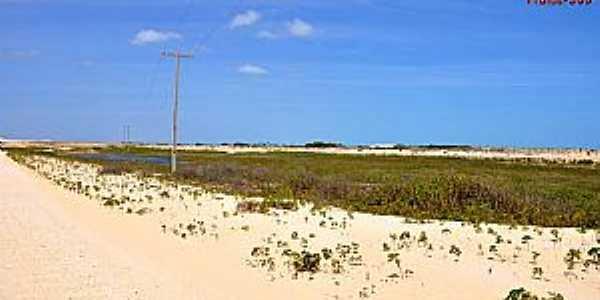 Barroquinha-CE-Vista da praia-Foto:www.praias-360.com.br