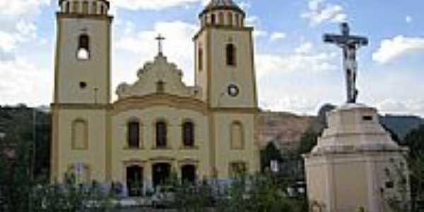 Igreja Matriz de N.Sra.da Palma em Baturit�-Foto:Francisco Edson Mend�