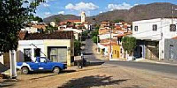 Vista do centro de  Baturit�-Foto:Francisco Edson Mend�