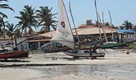 Beberibe - Barcos na Praia das Fontes em Beberibe-Foto:Isa Lanziani