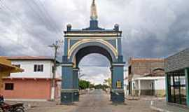 Bela Cruz - Bela Cruz-CE-Arco com a Imagem de N.Sra.de Fátima-Foto:Claudio Lima