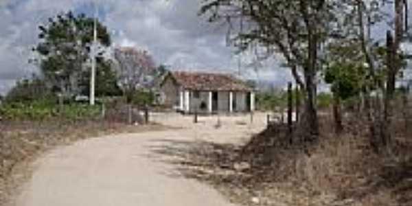 Casa no Povoado Lagoa das Ovelhas em Monteirópolis-AL-Foto:josealmedeiros@hotma…