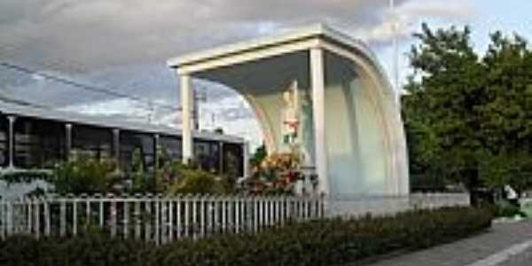 Imagem em homenagem à São Sebastião em Monteirópolis-Foto:Sergio Falcetti