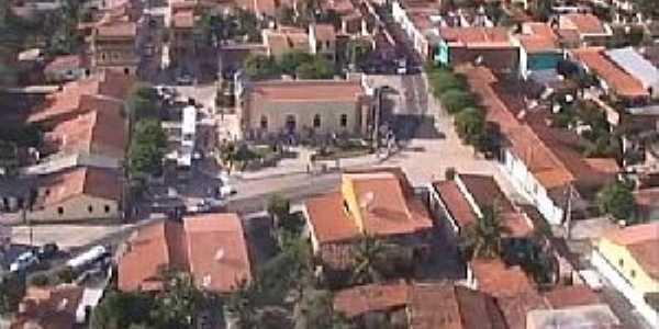 Betânia-CE-Vista parcial da cidade-Foto:ANTONIO SILVÉRIO DE OLIVEIRA
