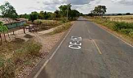 Buritizinho - Buritizinho-CE-Rodovia na entrada da cidade-Foto:www.noticiasatuaishoje.com.br
