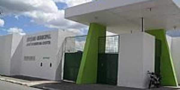 Entrada do Est�dio Municipal Jos� Gomes da Costa em Murici-Foto:Sergio Falcetti