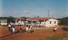 Calabaça - Calabaça-CE-Escola José Primo de Morais na Vila Extrema em 1998-Foto:memoriavarzealegrense