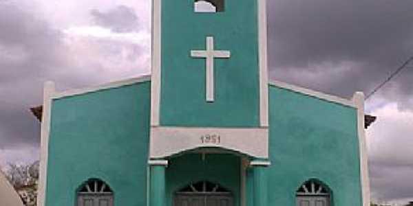 Calabaça-CE-Capela de Santa Luzia no Sítio Graiado,Distrito de Calabaça-Foto:memoriavarzealegrense