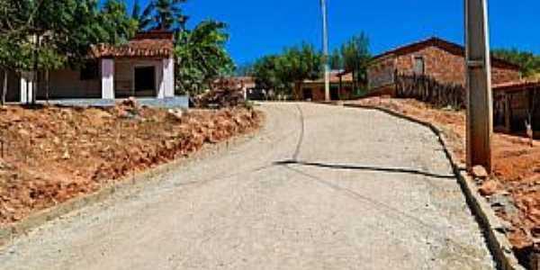 Calabaça-CE-Entrada do Povoado-Foto:Augusto César