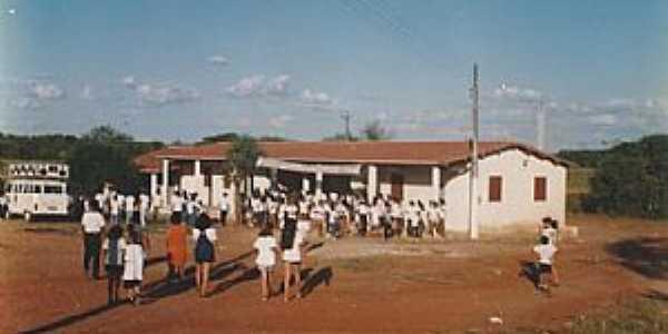 Calabaça-CE-Escola José Primo de Morais na Vila Extrema em 1998-Foto:memoriavarzealegrense