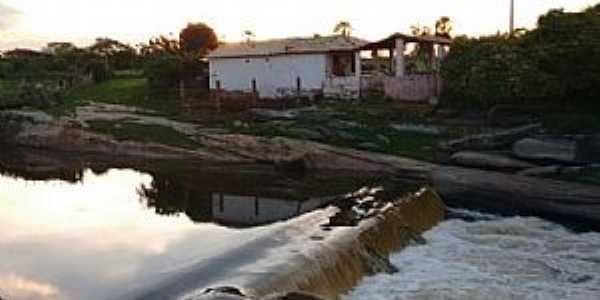 Caldeirão-CE-Barragem do Caldeirão-FotoCaldeirão-CE-Barragem do Caldeirão-Foto:Frank Carneiro