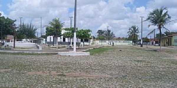 Camboas-CE-Centro do Povoado-Foto:janebele