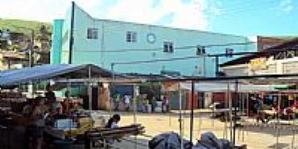Novo Lino-AL-Feira no centro-Foto:Orlando de Almeida Calado