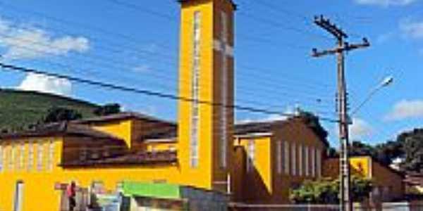 Novo Lino-AL-Igreja de S�o Jos�-Foto:Orlando de Almeida Calado