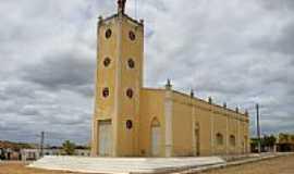 Campos Sales - Capela de S�o Francisco no Distrito de Bar�o de Aquiraz em Campos Sales-CE-Foto:Thiago dos Passos