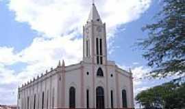 Campos Sales - Igreja Matriz de N.Sra.da Penha-Foto:Vicente A. Queiroz