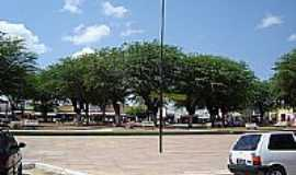 Campos Sales - Pra�a do � em Campos Sales, por Leonardo Alves.