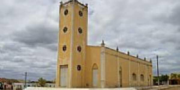 Capela de São Francisco no Distrito de Barão de Aquiraz em Campos Sales-CE-Foto:Thiago dos Passos