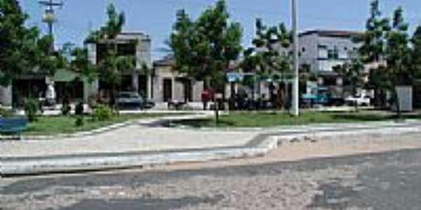Praça em Canaan, por ThorBogie.