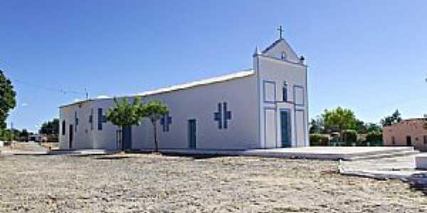 Cangati-CE-Igreja Matriz-Foto:washington Luiz