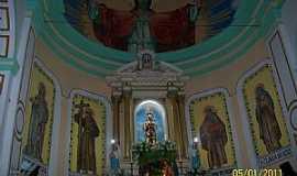 Canindé - Canindé-CE-Altar da Igreja de São Francisco das Chagas-Foto:Josue Marinho