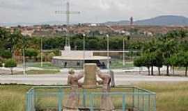 Canindé - Praça dos Romeiros,constitue um dos atrativos mais importantes de Canindé-CE