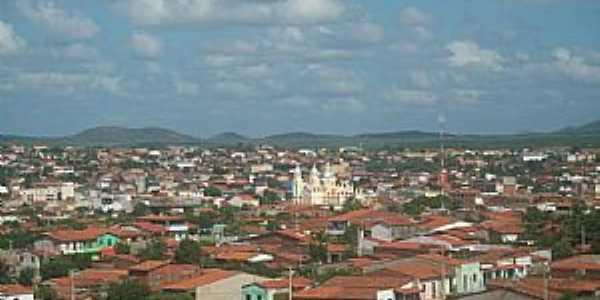 Canindé-CE-Vista da cidade-Foto:Josue Marinho