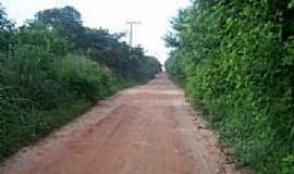 Caponga da Bernarda - Estrada de acesso-Foto:edno sousa
