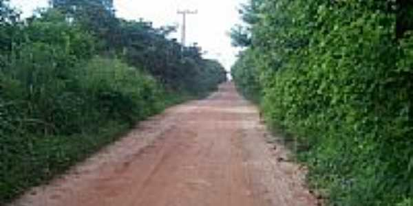 Estrada de acesso-Foto:edno sousa