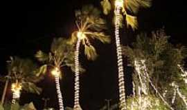 Cariré - Ornamentação de Natal em Cariré-Foto:Macílio Gomes