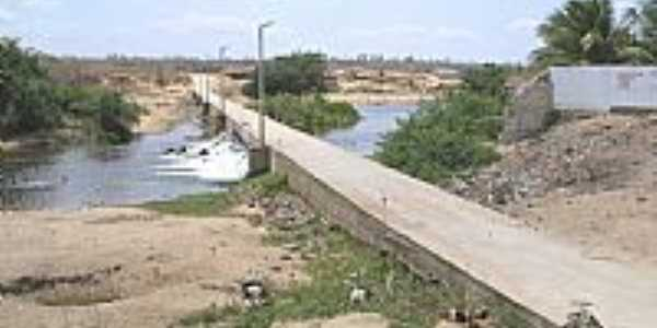 Cariré-CE-Ponte sobre o Rio Acaraú-Foto:Cido Gonçalves
