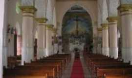 Caririaçu - Igraja Matriz de São Pedro...interior, Por Eneida Araujo