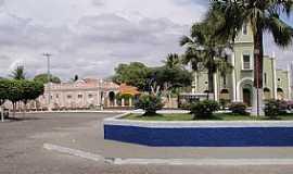 Cariús - Cariús-CE-Praça e Matriz de N.Sra.Auxiliadora-Foto:anadond