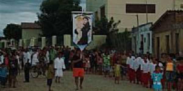 Procissão em Cariutaba-Foto:wgc1969