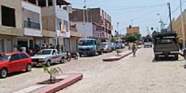 Avenida central em Carnaubal-Foto:doty