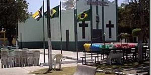 Carrapateiras-CE-Igreja de N.Sra.das Graças-Foto:blogdafolha.blogspot.com.br