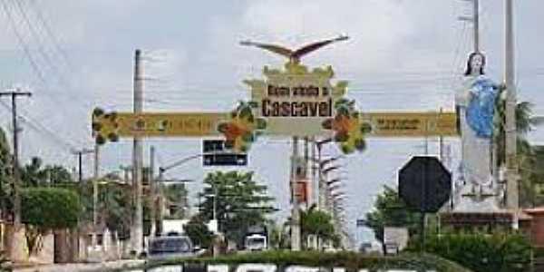 Cascavel-CE-Entrada da cidade-Foto:cearaemfotos.blogspot.com