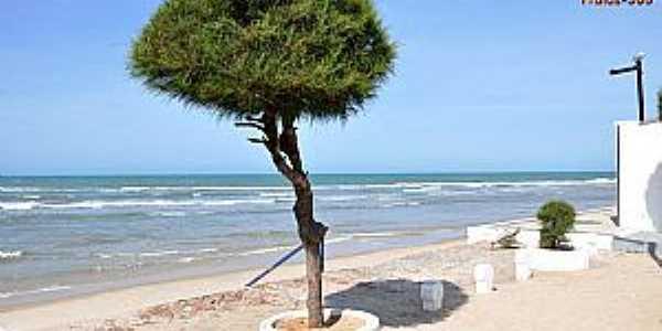 Cascavel-CE-Orla da praia-Foto:www.praias-360.com.br