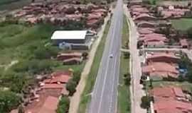 Catolé - Catolé-CE-Rodovia cortando o distrito-Foto:Facebook